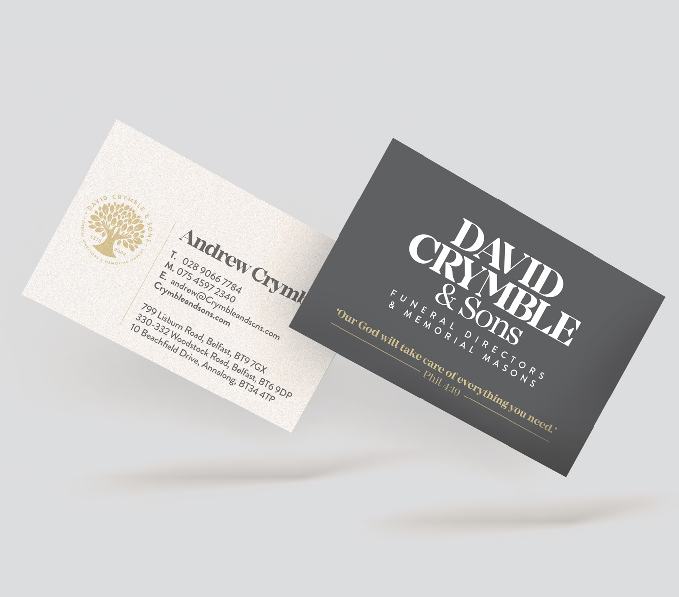 Crymble Business Cards